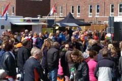 Koningsdag 2015 schoolplein