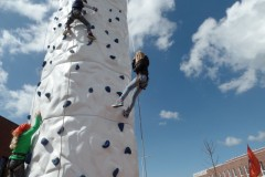 klimwand Koningsdag 2015
